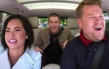 Demi Lovato et Nick Jonas s'embarquent pour un Carpool Karaoke