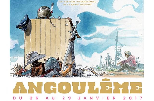 Le palmarès du festival de bande dessinée d'Angoulême 2017