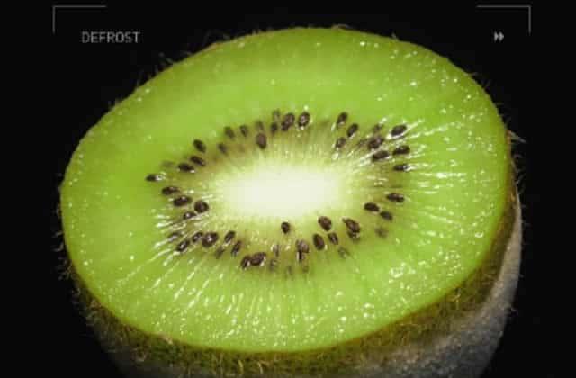 La clémentine qui pète, et autres fruits et légumes qui décongèlent en vidéo