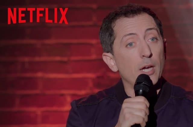 Gad Elmaleh prépare un nouveau spectacle… qui sera disponible sur Netflix !