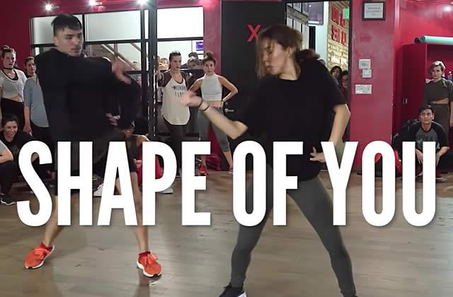 Shape Of You d'Ed Sheeran inspire des chorés aussi sublimes que la chanson
