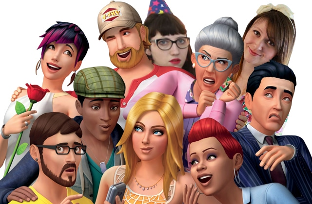 Live jeux vidéo:on s'enjaille sur les Sims 4 ce soir à 18h!