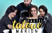 Marion Seclin se fait tatouer dans la douleur, par Flow et Pastel