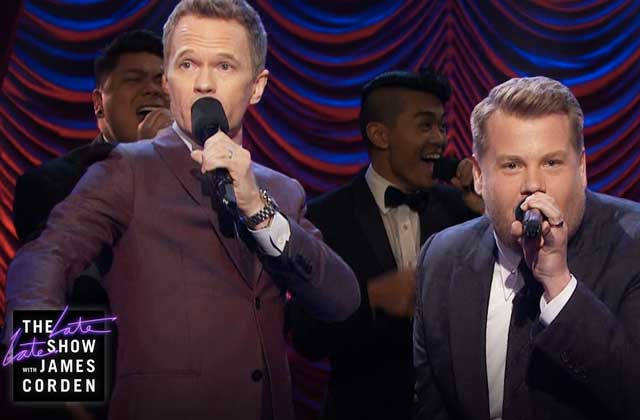 Neil Patrick Harris et James Corden s'affrontent dans une Broadway Battle