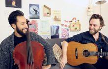 NiLem interprète «Retour à l'envoyeur» en guitare-violoncelle et c'est tout doux pour les oreilles