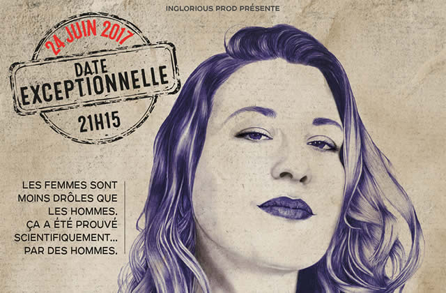 Tania Dutel et son stand-up incisif au Grand Point Virgule le 24 juin — Tarif madmoiZelle !