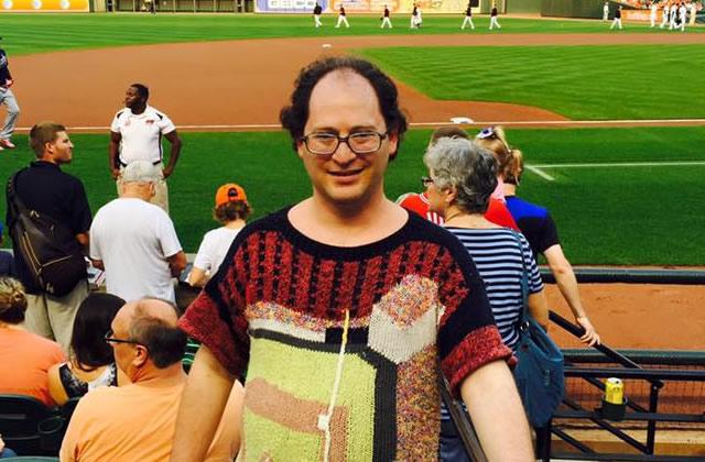 Les pulls de Sam Barsky ou les cartes postales rétro en tricot