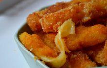 Recette des frites de comté panées au fromage, car on a JAMAIS trop de fromage