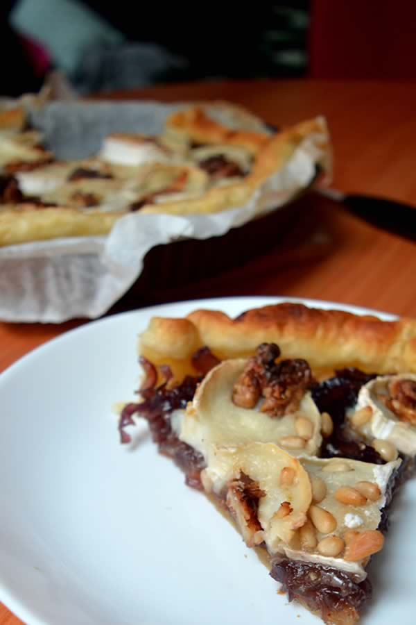 tarte chevre pinterest