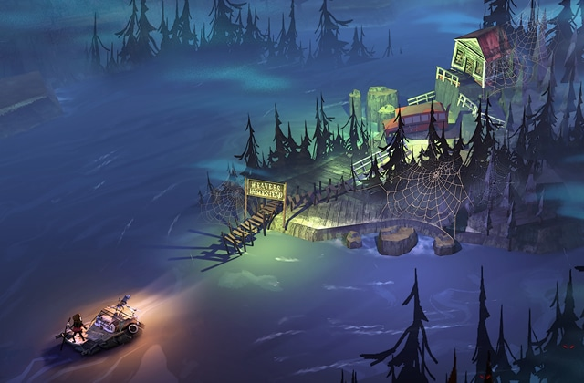REPLAY — Découvrez The Flame in the Flood, un jeu de survie poétique !