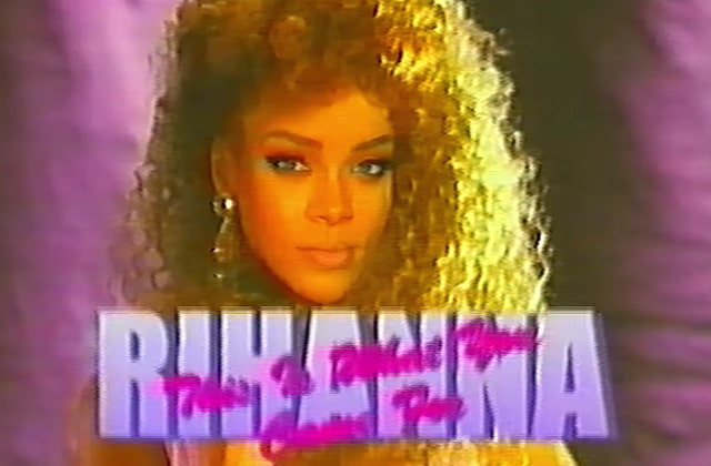 Le tube « This is what you came for » de Calvin Harris & Rihanna remixé façon 80s met du kitsch dans vos vies