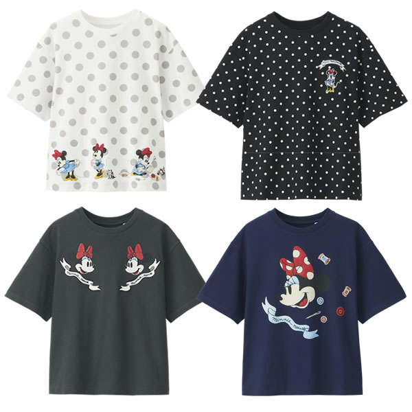 uniqlo-minnie-tshirts