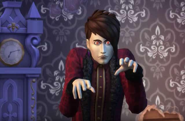 Les vampires débarquent dans les Sims 4, et ça va se pécho dans des cercueils