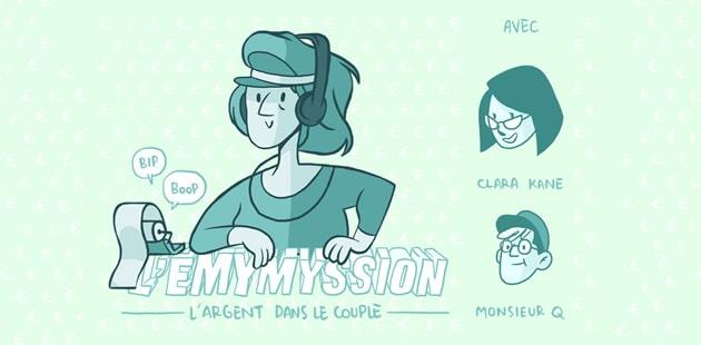 REPLAY — L'éMymyssion sur le couple & l'argent avec MrQ. et Clara Kane