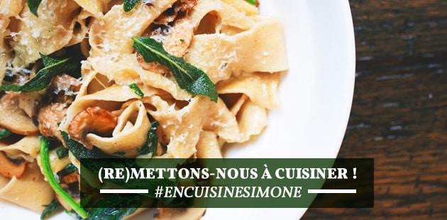 On se (re)met à cuisiner ! #EnCuisineSimone