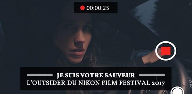 Je suis votre sauveur, l'outsider du Nikon Film Festival qui m'a tenue en haleine