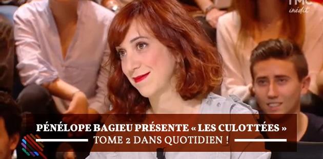 Pénélope Bagieu présente «Les Culottées» tome 2 dans Quotidien!