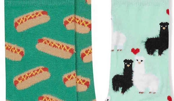 chaussettes-lamas-hot-dog