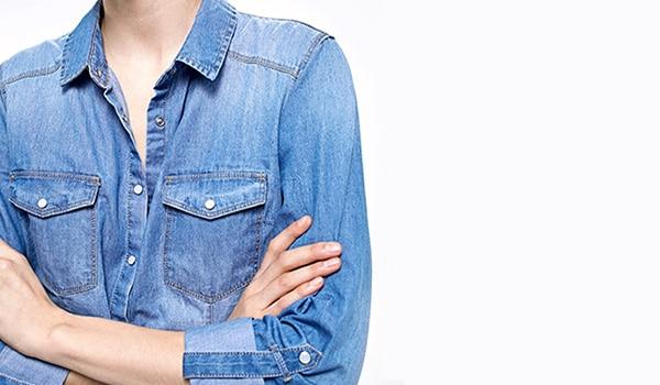 chemise-en-jean-stradivarius
