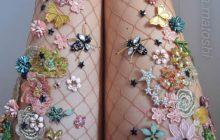 Les collants-bijoux qui feront de toi une fée de la nature