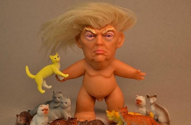 Donald Trump, la version poupée Troll qui fera rire tout le monde (sauf lui)
