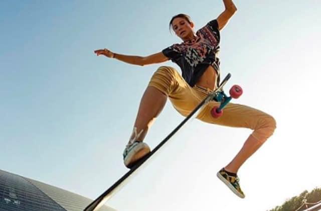 Alexandra Kubiak Ho-Chi, longboardeuse professionnelle, nous raconte son parcours