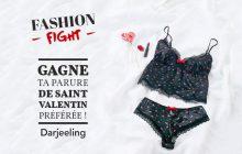 Fashion Fight Darjeeling — Gagne ta parure de Saint-Valentin préférée !