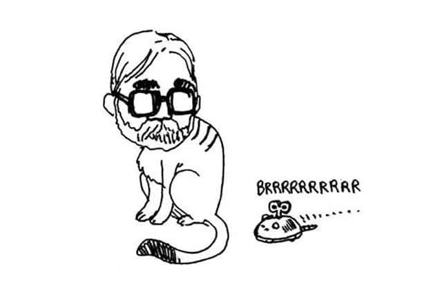 Miyazaki est un chat, c'est le dessinateur Boulet qui le dit