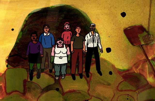 My Entire High School Sinking Into The Sea, un film d'animation sarcastique et décalé