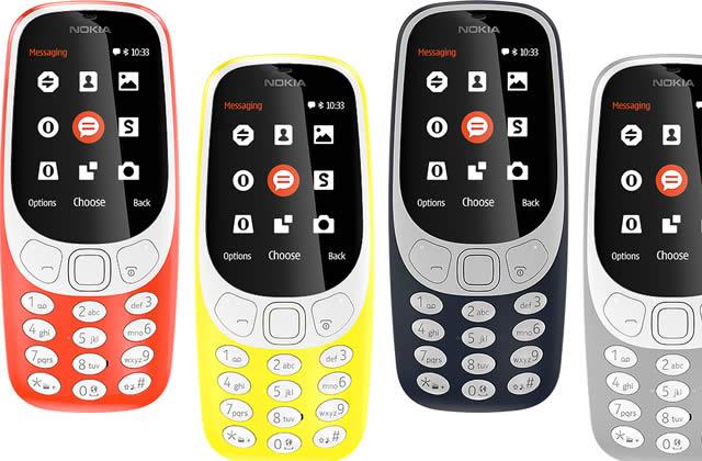 Le Nokia 3310 et le Snake sont de retour officiellement !