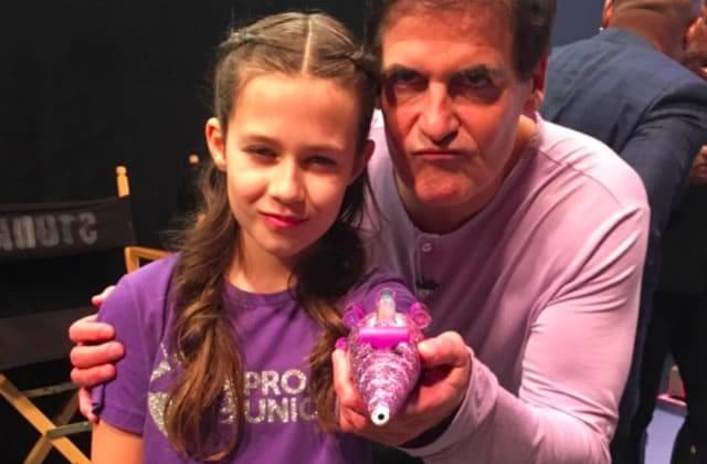 À 10 ans, elle s'invente une prothèse licorne qui fait… canon à paillettes!