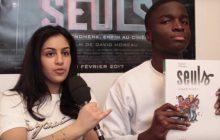 «Seuls», de la BD au film—Rencontre avec Sofia Lesaffre et Stéphane Bak