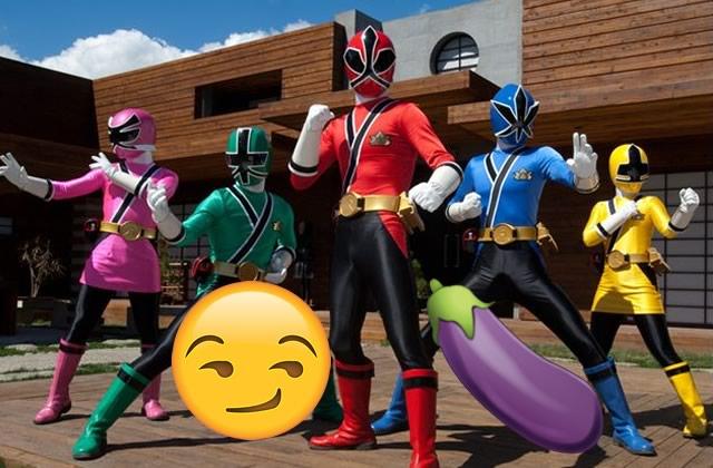 Le sextoy Power Rangers, parce que la seule limite est l'imagination