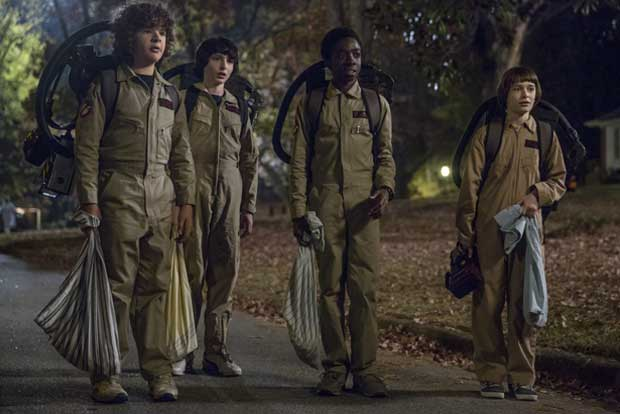 Une image ! Film/Serie Stranger-things-ghostbusters