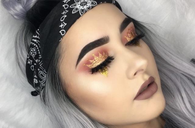 Le crown makeup, la tendance maquillage pour afficher la reine que tu es