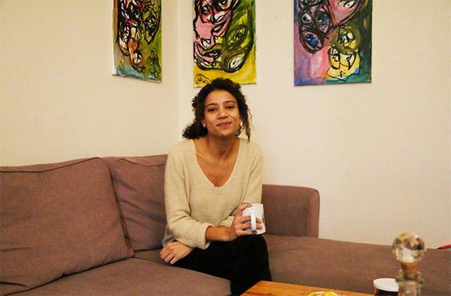 Dans l'appart' d'Alizée, vidéaste à Paris