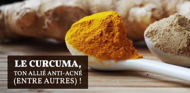 Le curcuma, ce surprenant allié contre l'acné et pour un corps plus sain