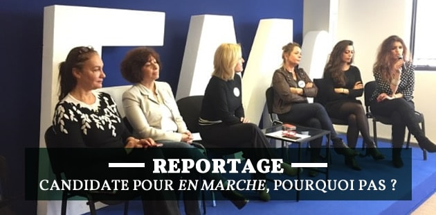 Reportage auprès des femmes d'En Marche, dans les starting blocks des législatives