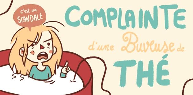 Complainte d'une buveuse de thé — Le dessin de Mlle Karensac
