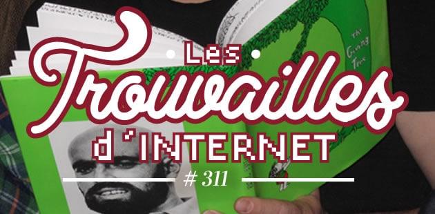 Les trouvailles d'Internet pour bien commencer la semaine #311