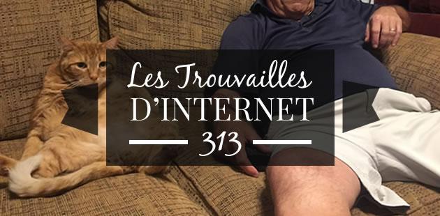 Les trouvailles d'Internet pour bien commencer la semaine #313