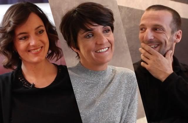 L'équipe de «De plus belle»(Florence Foresti, Mathieu Kassovitz & Anne-Gaëlle Daval) en interview!