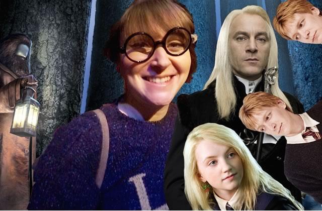 Fannyfique t'emmène rencontrer les acteurs d'Harry Potter dans la Forêt Interdite!