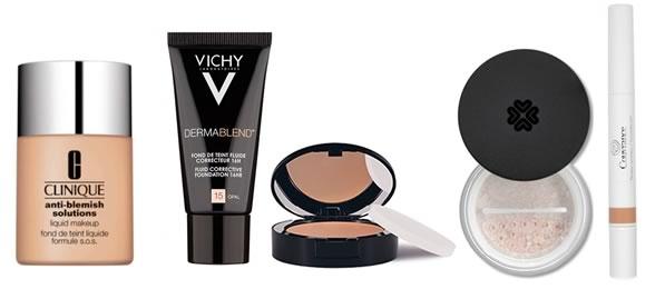 maquillage et acn comment maquiller une peau acn ique. Black Bedroom Furniture Sets. Home Design Ideas