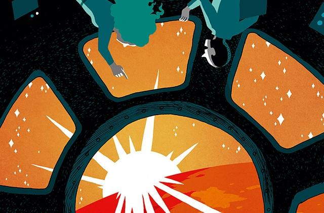 Florence Porcel vous emmène sur la planète rouge avec Mars Horizon, sa bande dessinée!