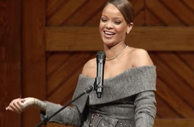 « Si vous avez un dollar, il y a beaucoup à partager!»: le discours inspirant de Rihanna à Harvard