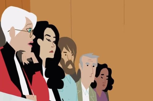 Le viol conjugal au cœur d'un procès poignant, dessiné par Pénélope Bagieu pour Envoyé Spécial