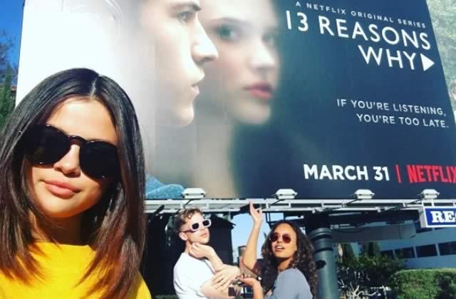 L'émouvant tatouage qui orne désormais Selena Gomez & les acteurs de 13 Reasons Why