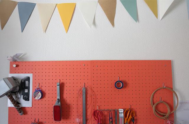 Cinq astuces pour ranger et optimiser ton coin DIY!
