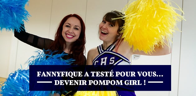 J'ai testé pour vous… devenir pompom girl! — par Fannyfique